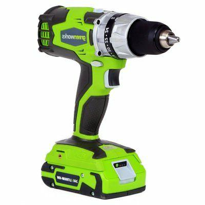 greenworks 32032 cordless lithium ion