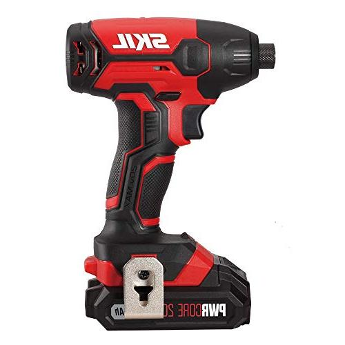 SKIL Cordless Drill Impact Driver and Charging Lithium -