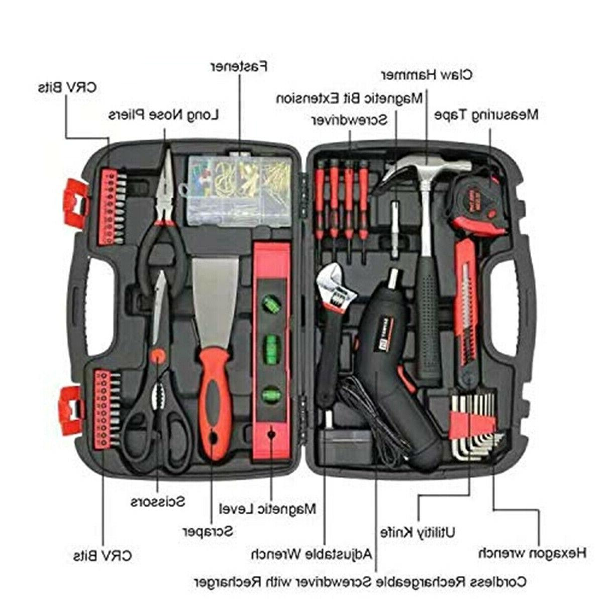 SAVWAY Power Rechargeable Screwdriver Drill Kit