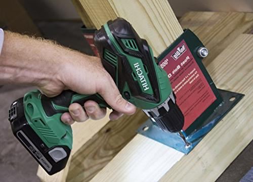 HITACHI 18-VOLT KIT WITH DRILL and DRIVER