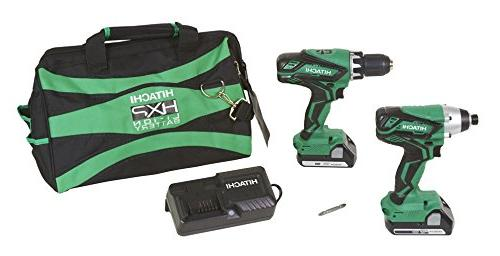 HITACHI KC18DGL 18-VOLT KIT DRIVER and