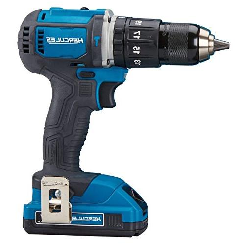 Hercules 20V Lithium 1/2 In. Compact Drill/Driver Kit