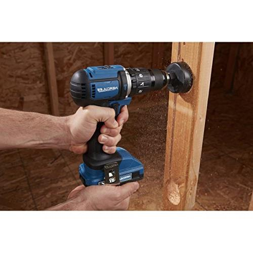 Hercules Lithium 1/2 Compact Hammer Drill/Driver