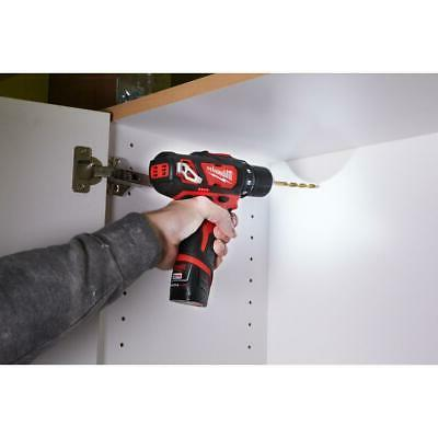 M12 Cordless in Drill/Driver 12-V Lithium-Ion W/ 2-Batteries