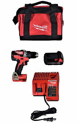 Milwaukee M18 18V Li-Ion Compact Brushless Cordless 1/2 in.
