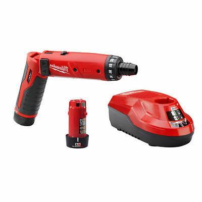 m4 cordless screwdriver drill kit