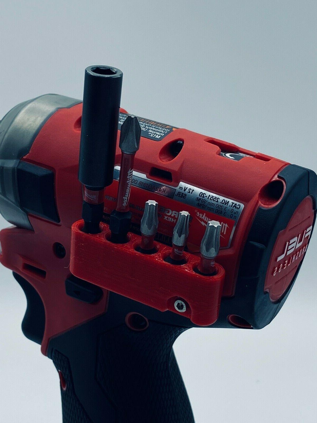 magnetic bit holder for m12 fuel surge