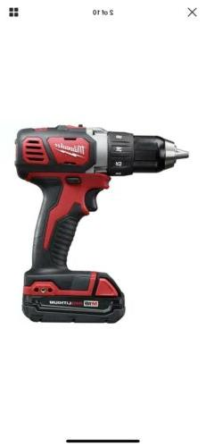 Milwaukee 2606-22CT 18V Li-Ion 1/2in. Cordless Drill with Ca