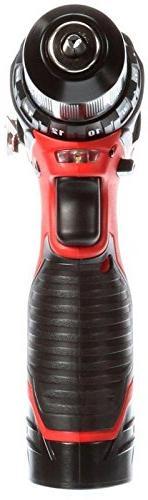 Milwaukee Cordless Driver Kit M12 Lithium-Ion 3/8 Tool 2407-22