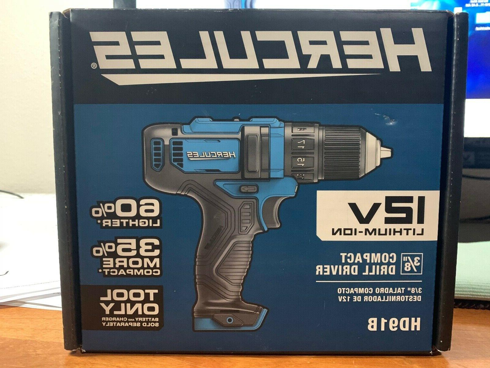 NEW • 12V Lithium Cordless 3/8 Compact
