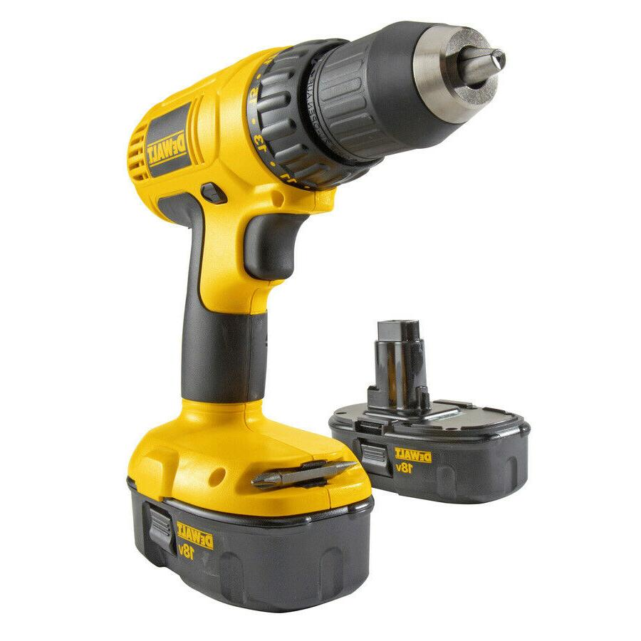 "New 18v DC970K-2 1/2"" Cordless Kit Free Shipping"