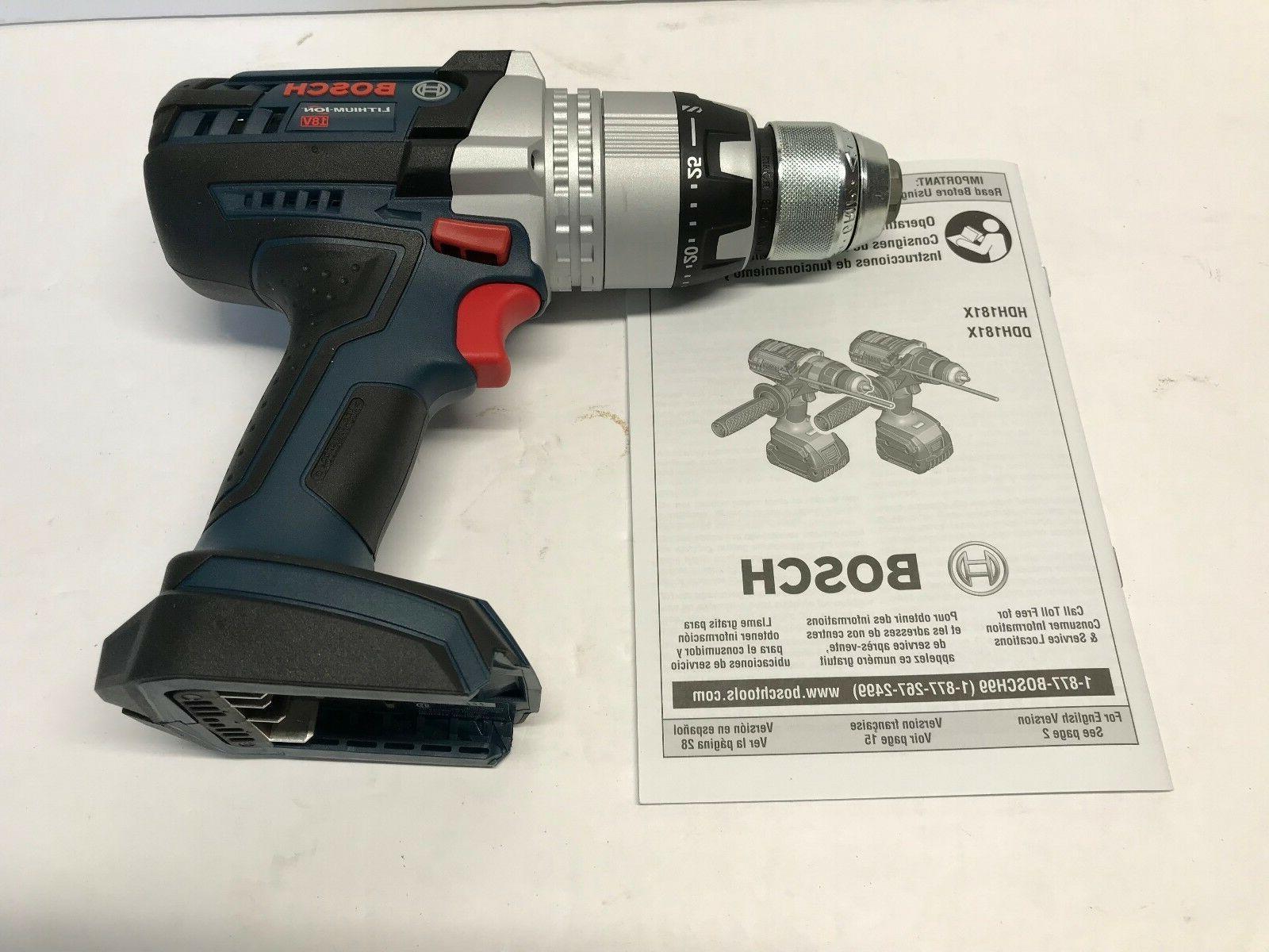 NEW Bosch 18v Cordless Hammer HDH181X Ion