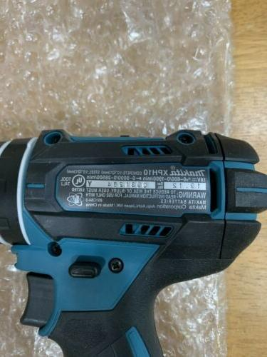 New Makita 18V Cordless Hammer Driver 18 Tool only