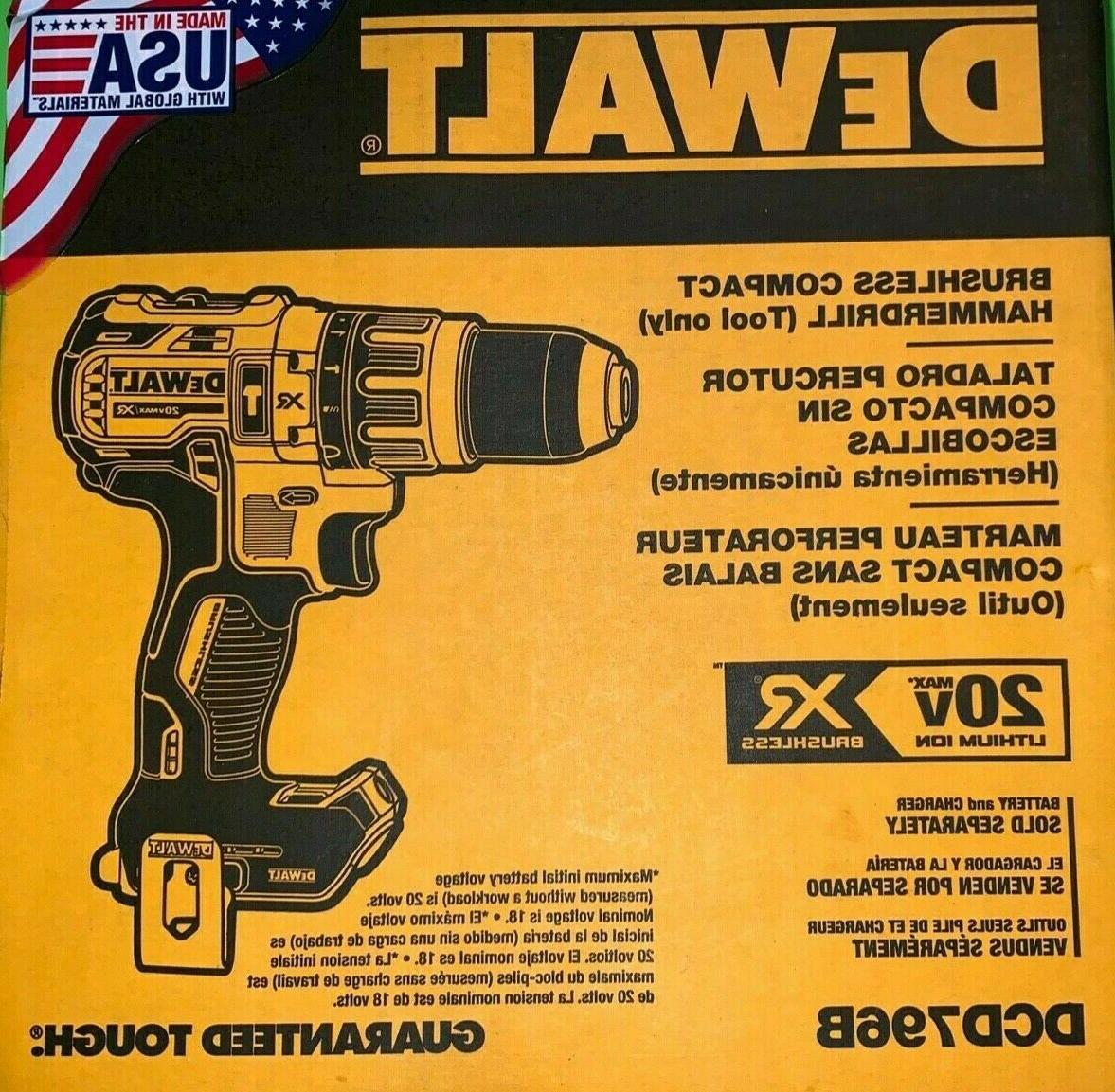 MAX XR Hammer DCD796