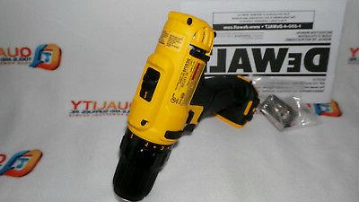 "New MAX 2-Speed 3/8"" Drill/Driver Bare Tool"