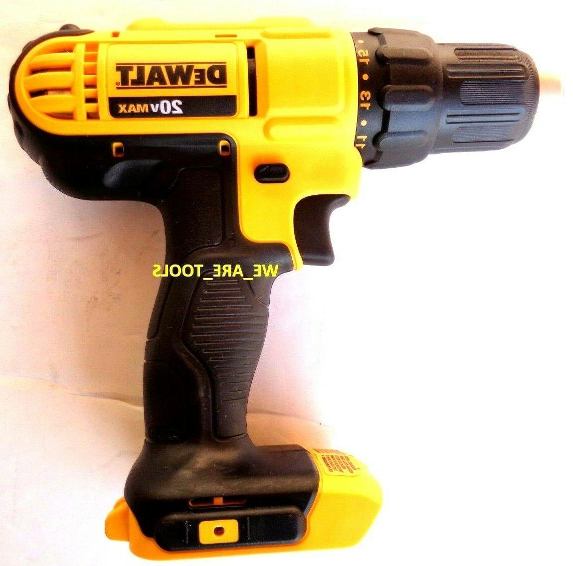 New DeWalt 20V Compact 1/2 1/2 MAX 20 Volt