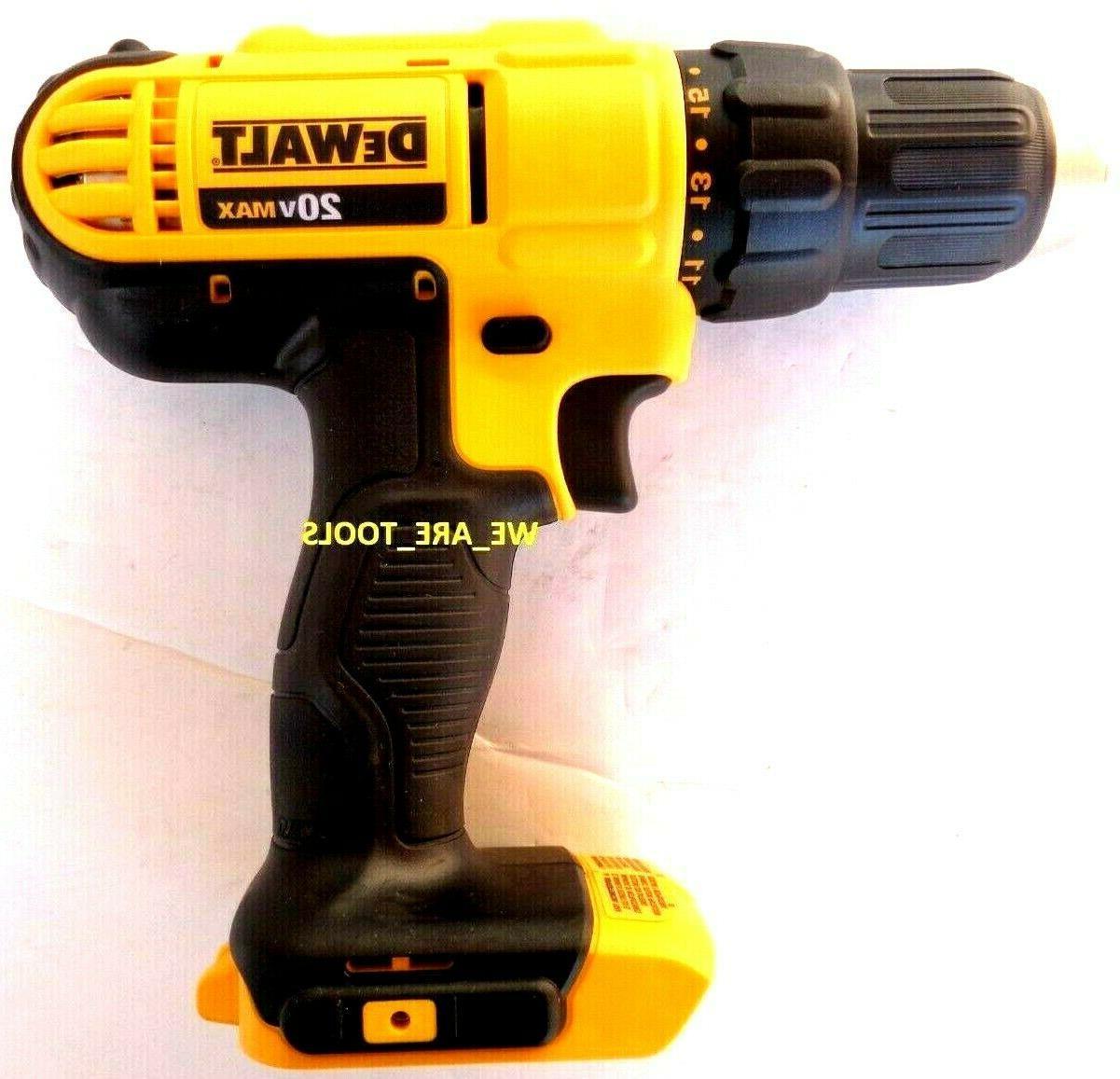new dcd771 20v compact 1 2 drill