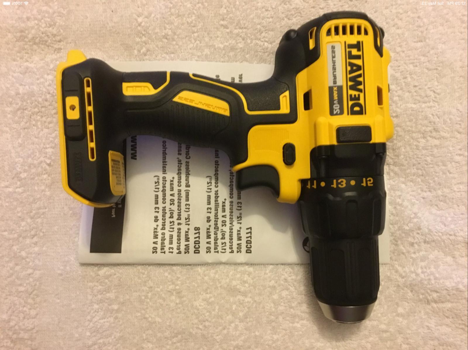 """New Max 1/2"""" 2 Speed Drill"""
