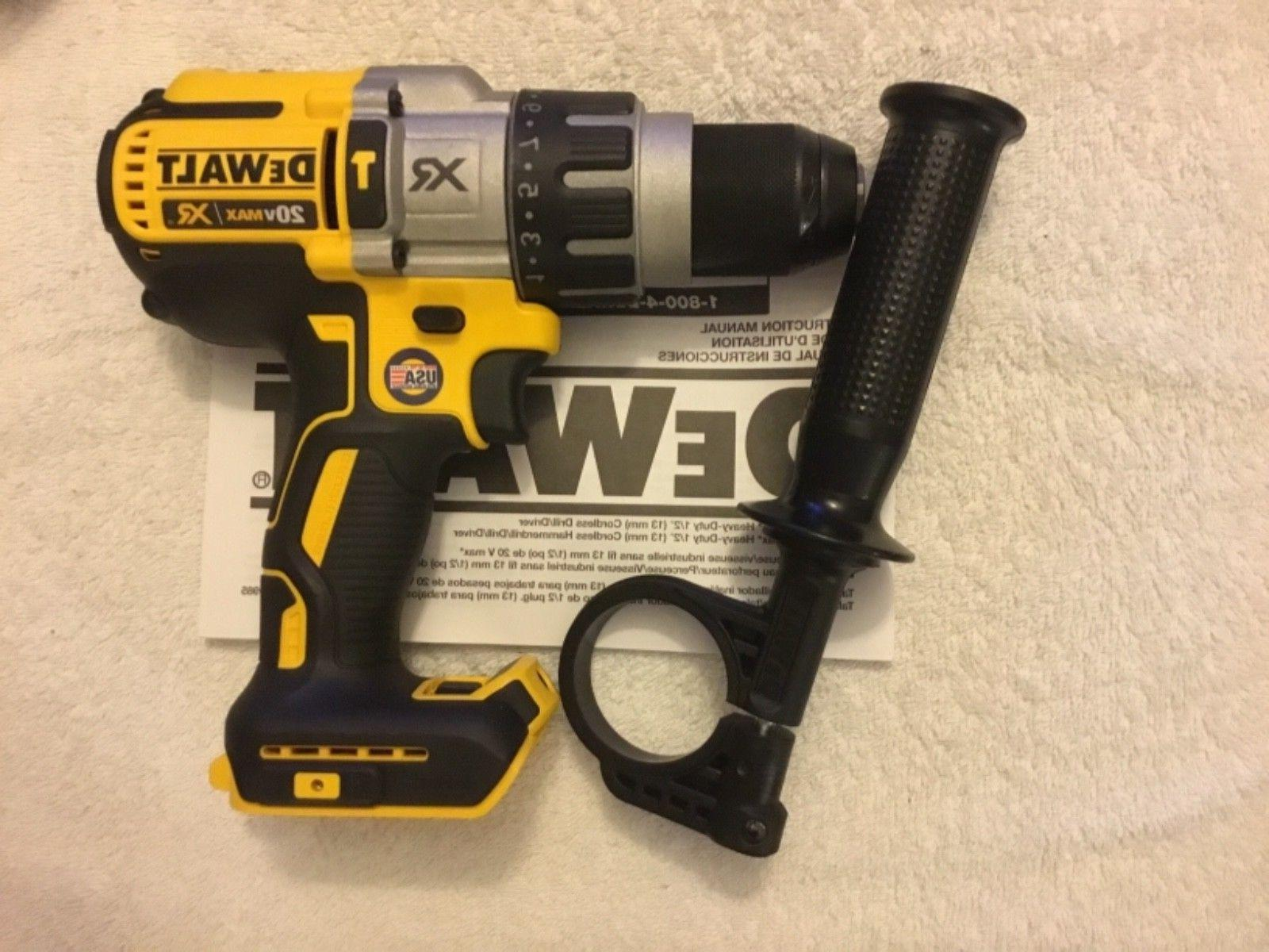 "New Dewalt Max 1/2"" 3 Speed Brushless Hammer Driver Li-ion"