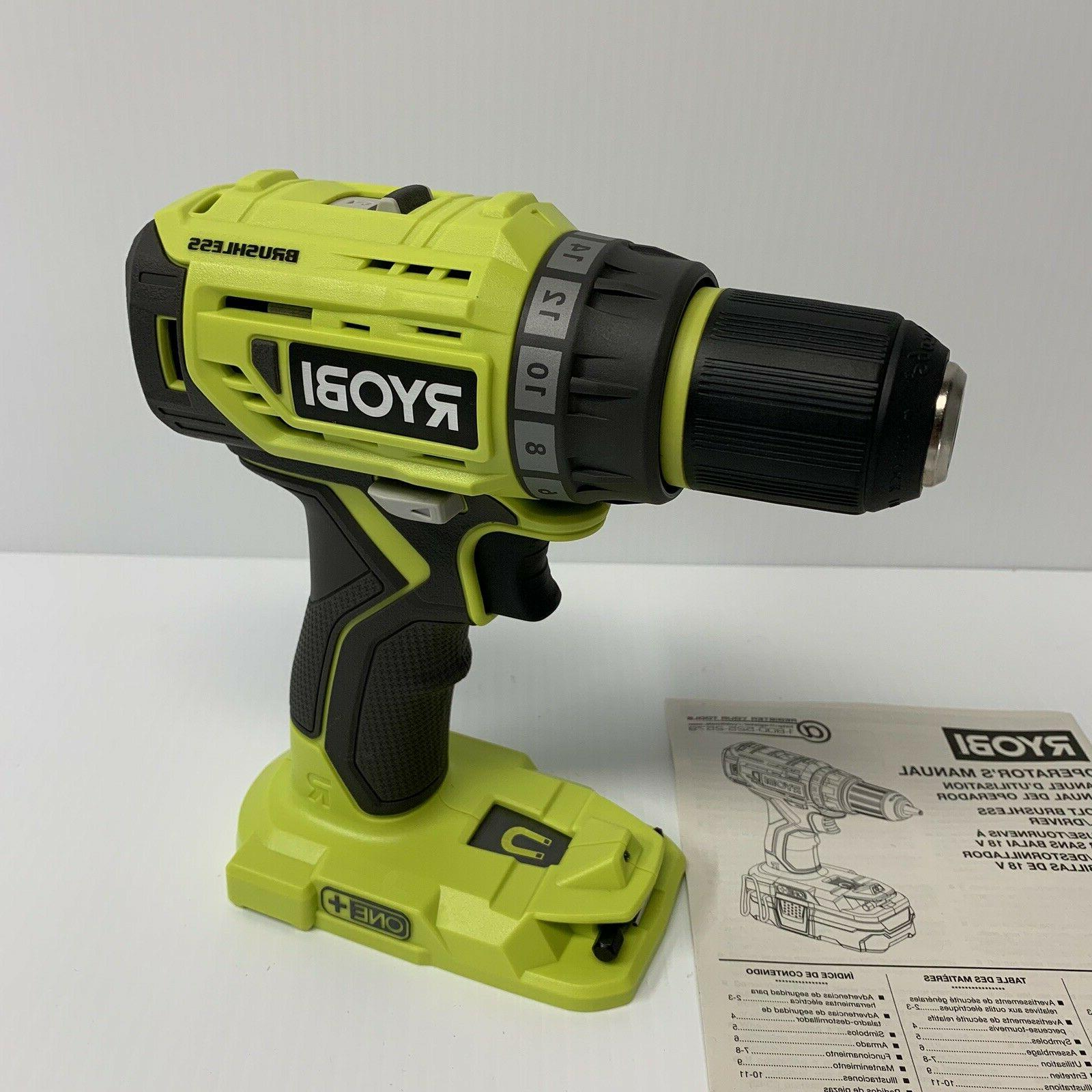 new p252 18 volt one cordless brushless