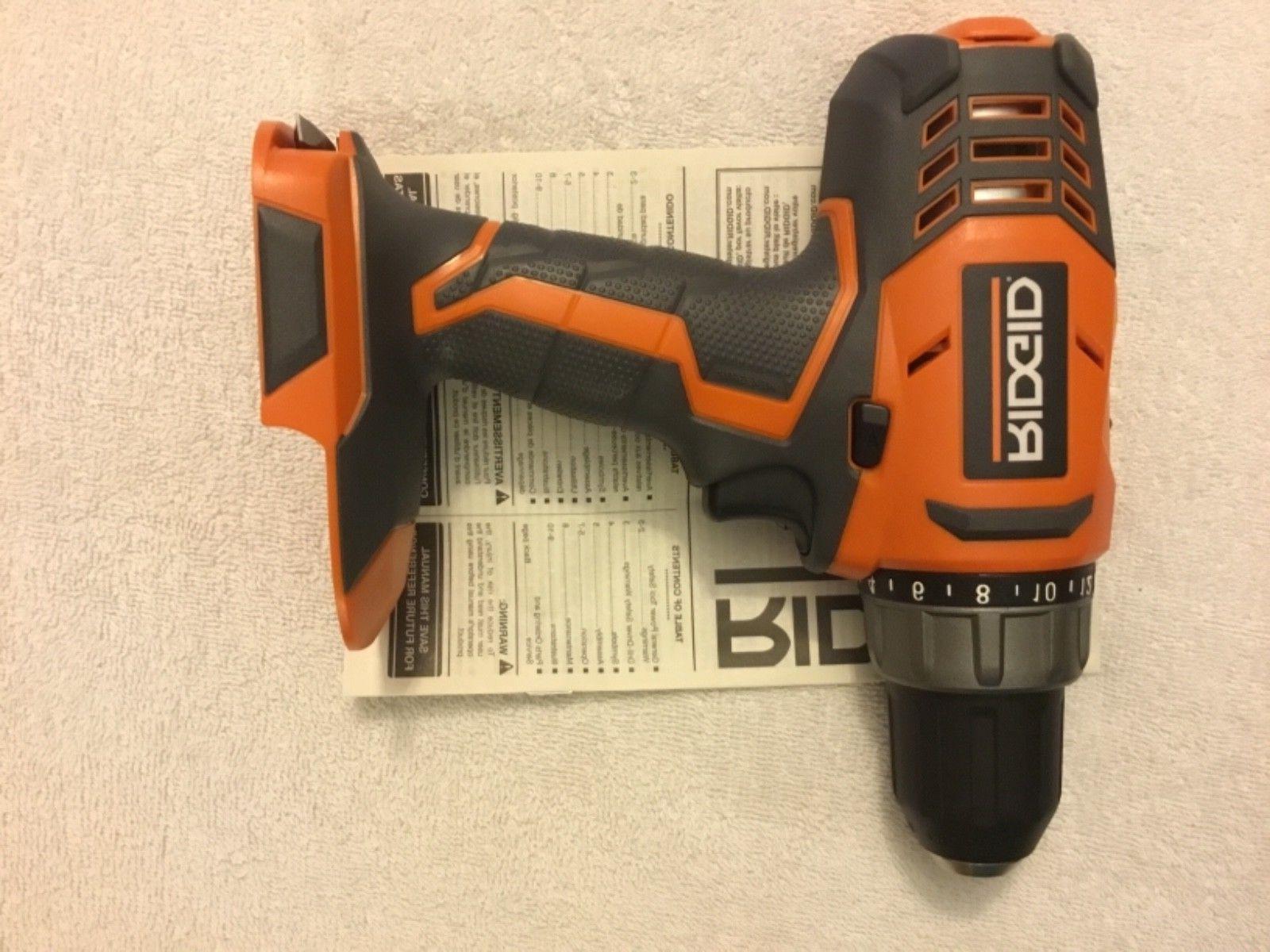 New Ridgid R860052 18 Volt Drill