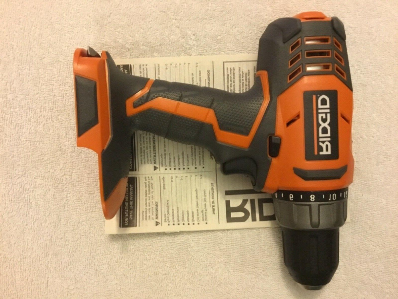 """New R860052 18 1/2"""" Cordless Drill Driver Ion"""