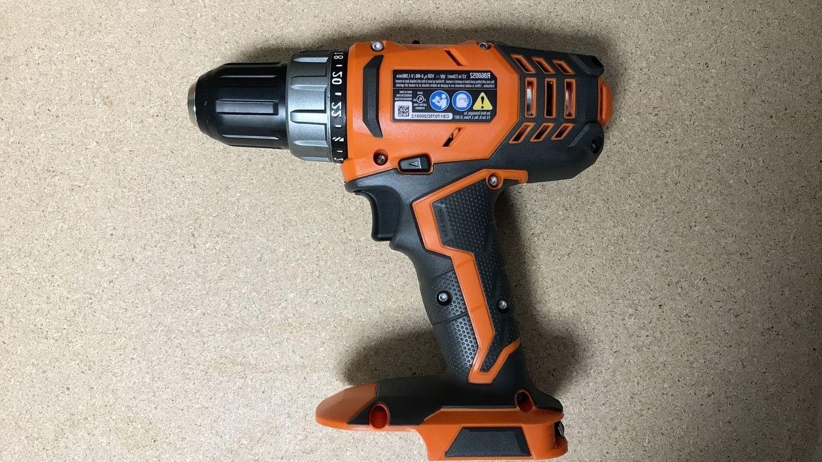 New RIDGID 18-Volt Cordless 1/2 in. Compact Drill/Driver