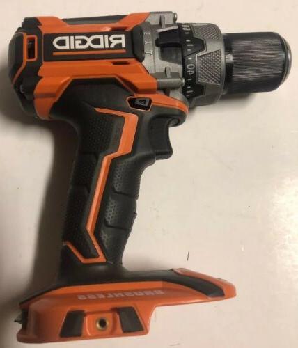 NEW RIDGID 18 Volt Brushless Drill Driver