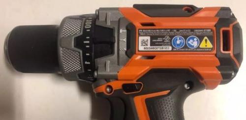 "NEW R86116 18V 18 Volt Li-Ion GEN5X Brushless 1/2"" Hammer Drill Driver"