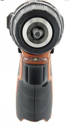 RIDGID 12 Volt 12V Lithium-Ion 3/8 in. Drill Bare Tool R8200