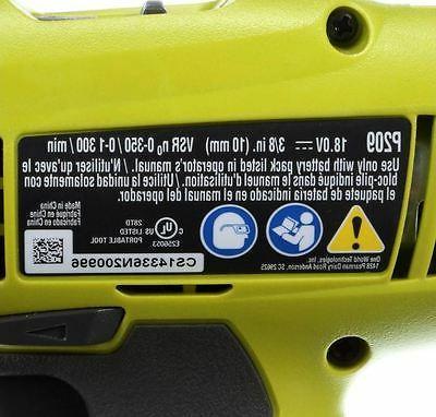 Ryobi ONE Lithium-Ion Cordless Starter Driver New