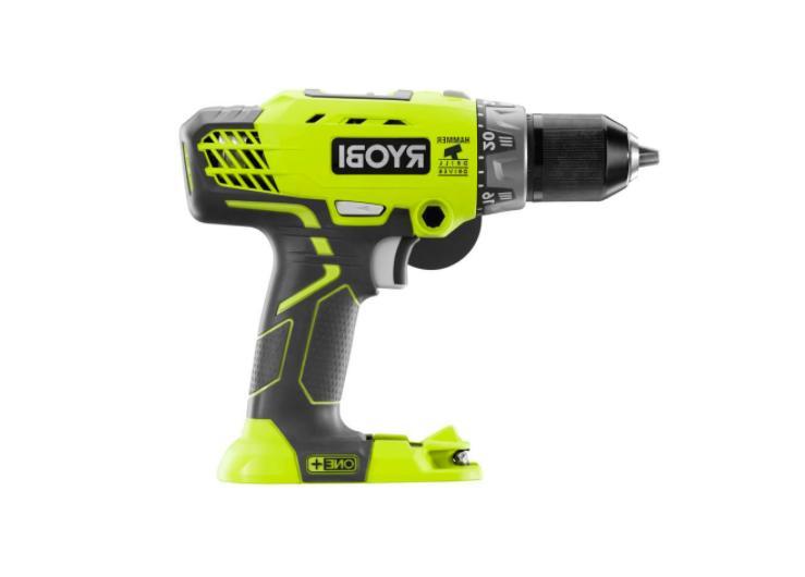 Ryobi P214 ONE+ 18-Volt LI-ION 1/2 Cordless Hammer Drill Tool