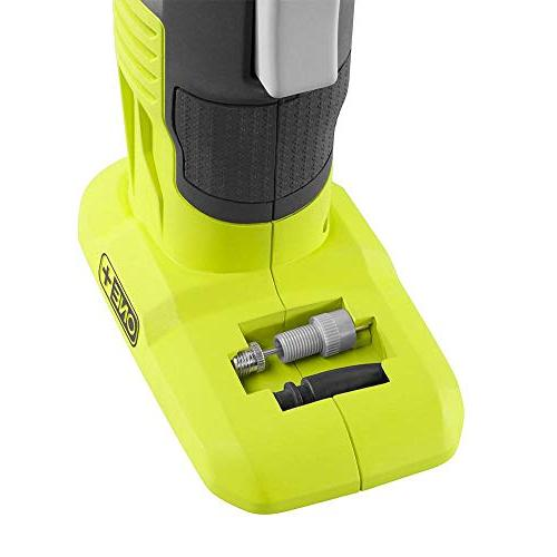 Ryobi 18-Volt Lithium-Ion Power Inflator Kit with Lithium-Ion Battery,18-Volt Charger and Automotive Pencil