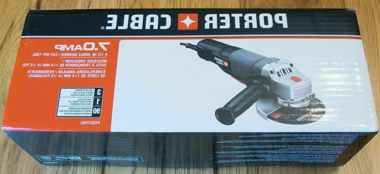 pc60tpag angle grinder cut
