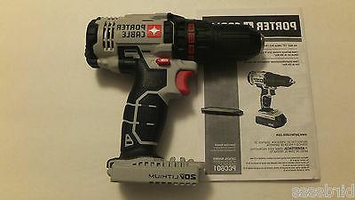 Porter-Cable 20V 1.3 Cordless Lithium-Ion 1/2 in. Driver Kit
