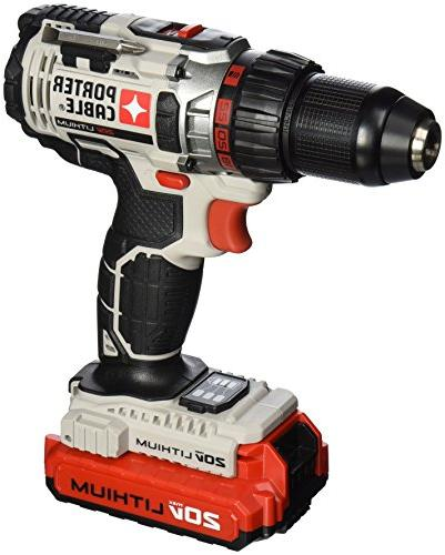 Porter-Cable PCC606LA Cordless Lithium-Ion in. Drill Driver