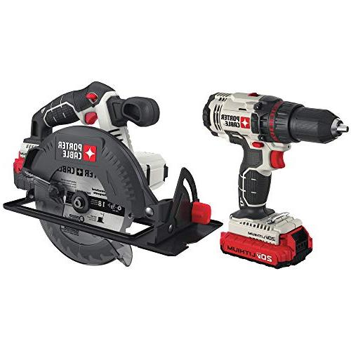 PORTER-CABLE Lithium Ion Combo Kit