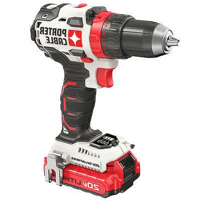 Porter-Cable 1/2 in. Cordless Lithium-Ion Drill Driver