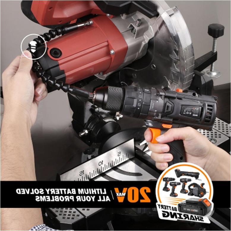 Tacklife PCD04B 20V Brushless Cordless Lithium-Ion Driver Drill
