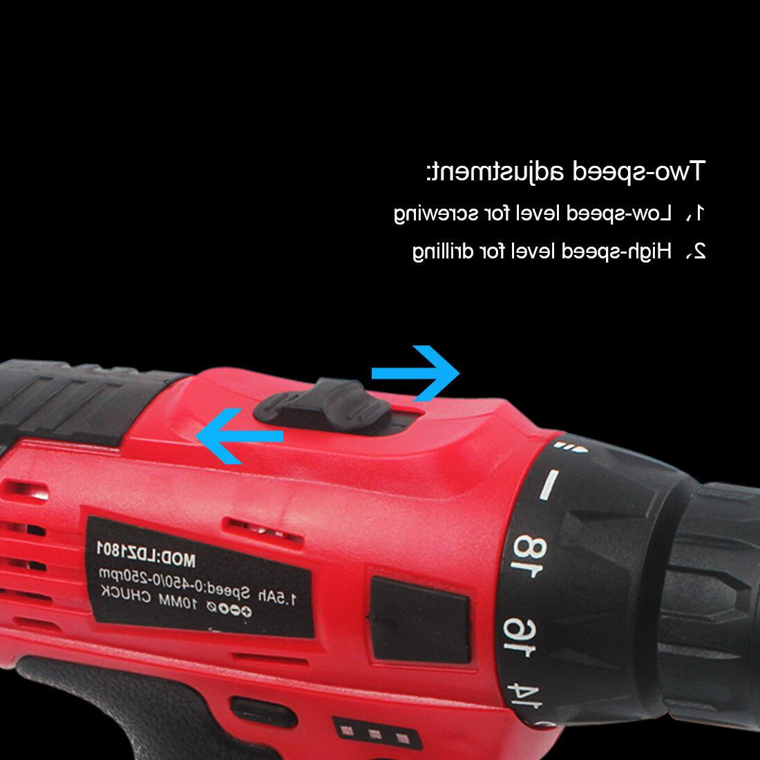 Powerful Drill Electric Driver Repair 18v max