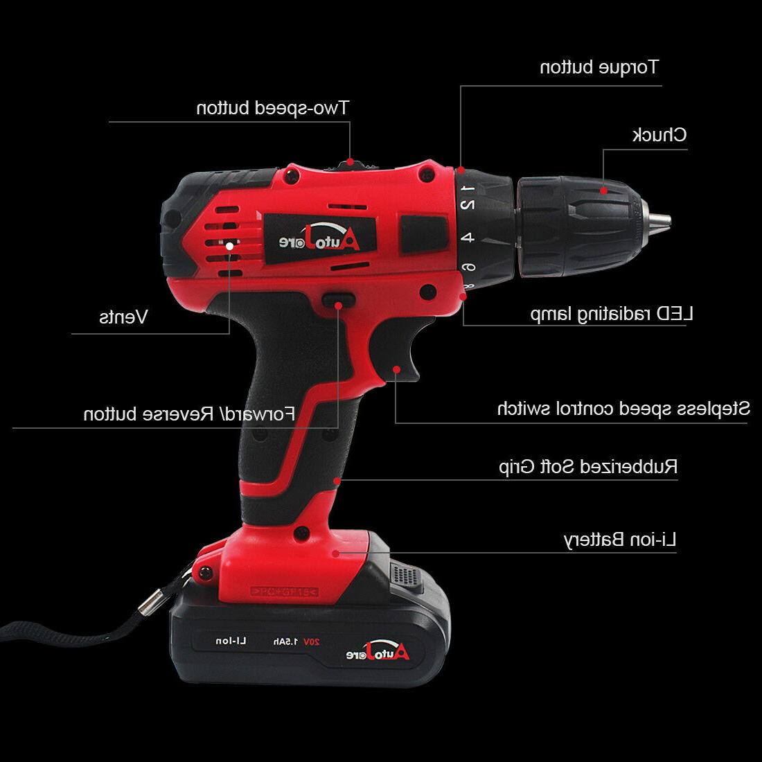 Powerful Cordless Electric Set Tool Repair 18v max