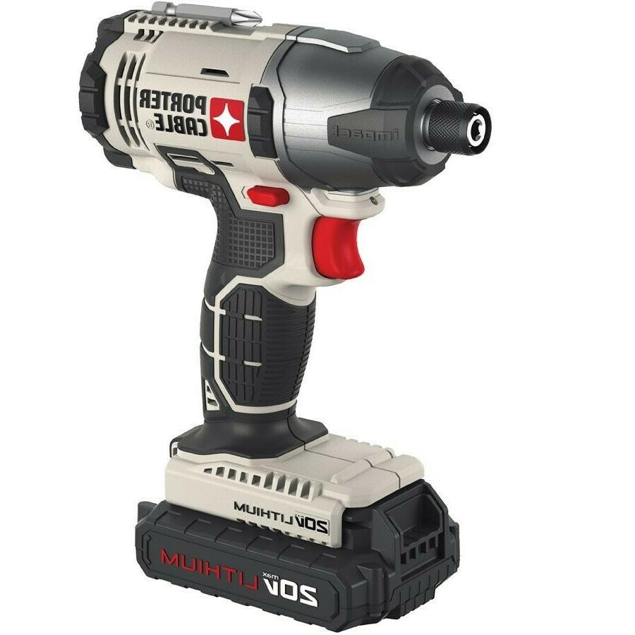 Porter Cordless IN.Hex Compact Impact PCC641LB