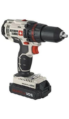 PORTER-CABLE 20V MAX Drill Kit Impact