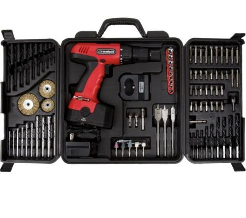 Power 89-Piece Volt Cordless With & Bits Tools