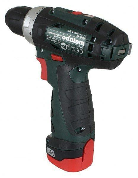 Metabo Drill Driver Voltage Capacity & Quantity