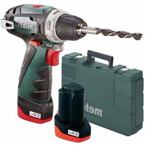powermaxx bs drill driver 10 8v voltage