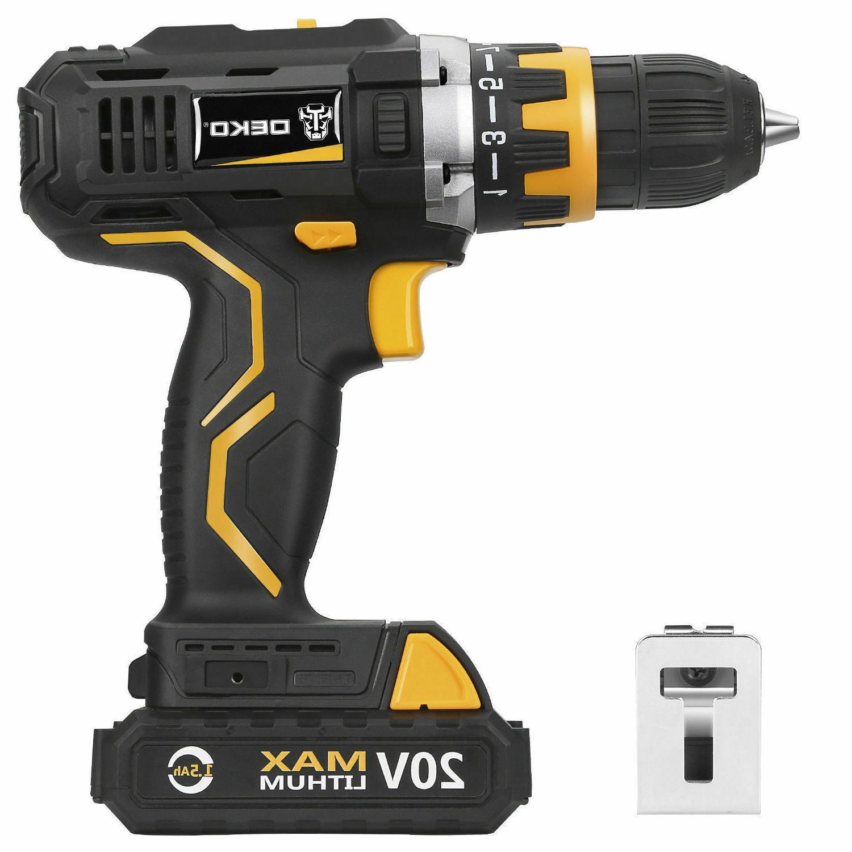 20v cordless drill driver pro 1 2