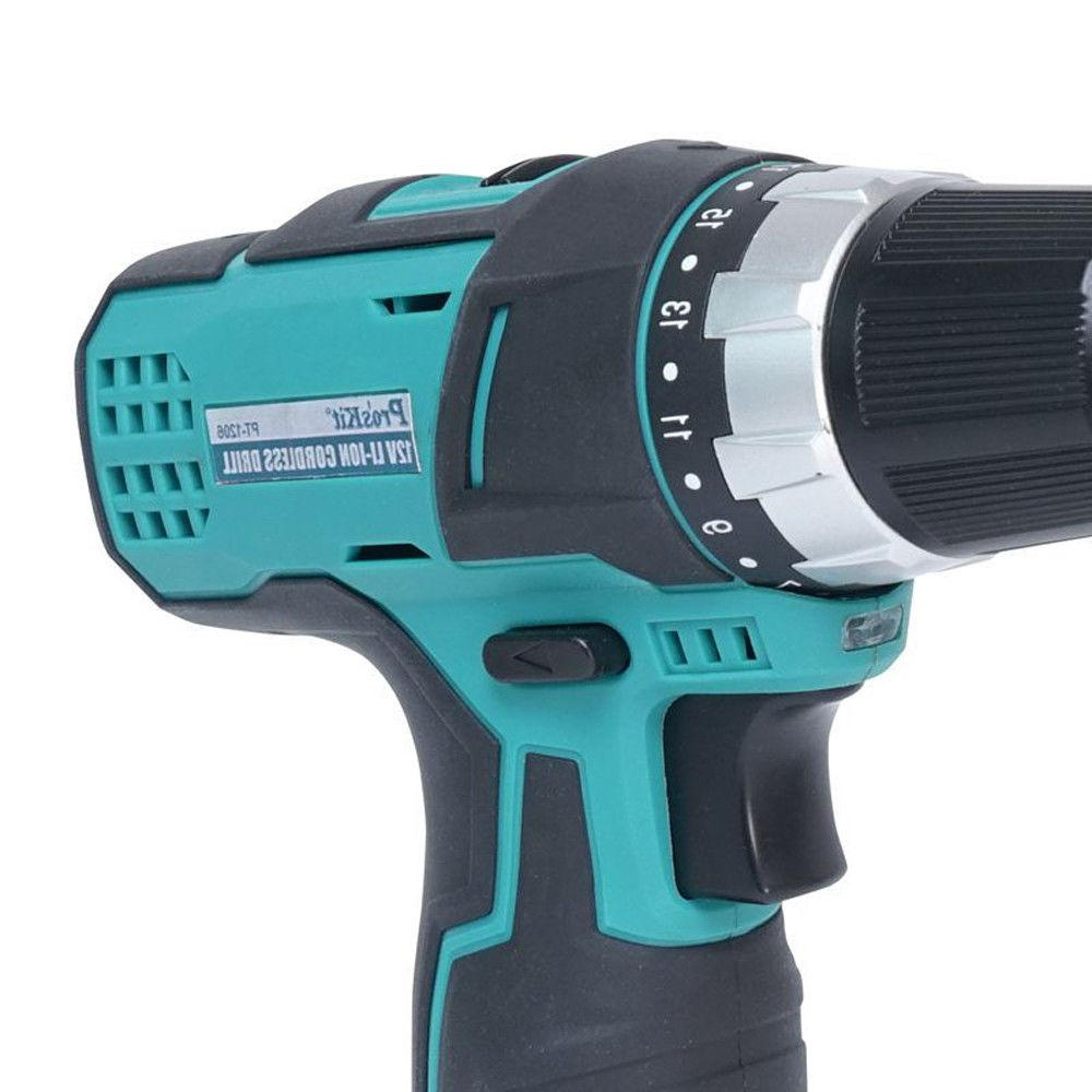Pro'sKit Cordless Drill Rechargeable