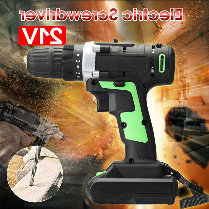 Protable Electric Drill Driver 18 Battery