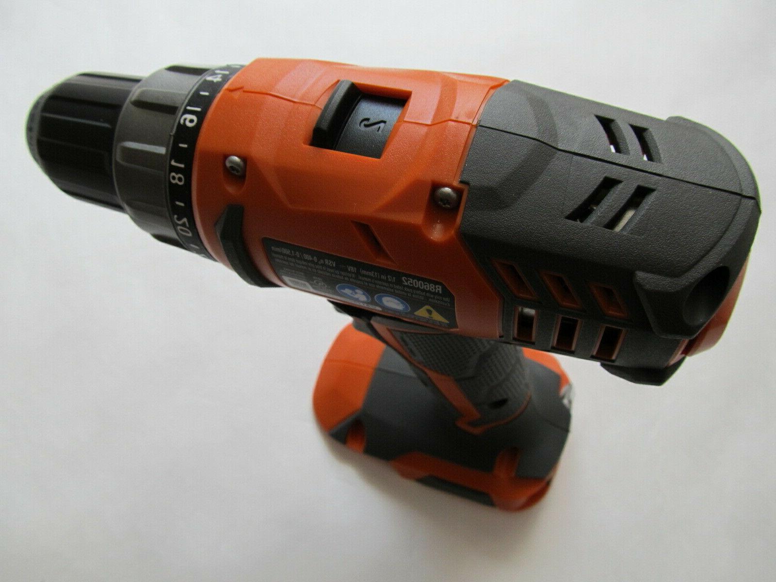 Ridgid R860052 18V Cordless Compact Drill/Driver